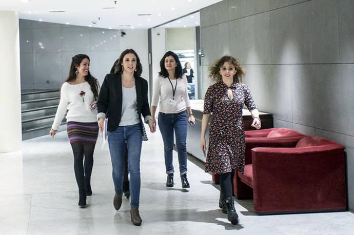Irene Montero abrirá el debate de la moción de censura contra Mariano Rajoy