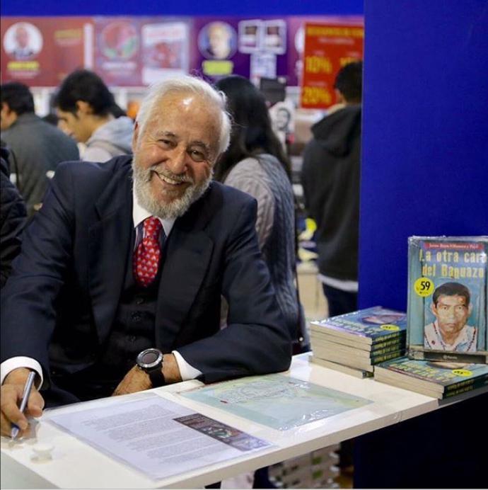 """Jaime Royo-Villanova, amigo de los jíbaros y autor del libro """"La otra cara del Baguazo"""""""