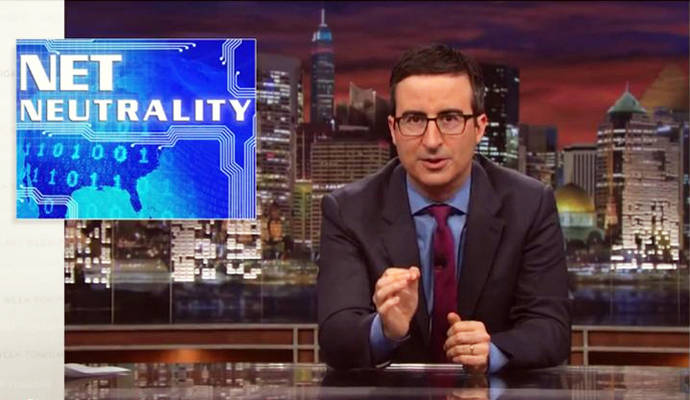 John Oliver leads Net Neutrality defenders to crash FCC website. Again