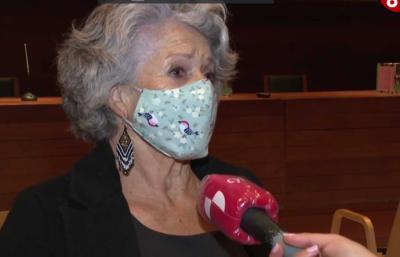 La escritora Concha Pelayo (captura de pantalla)