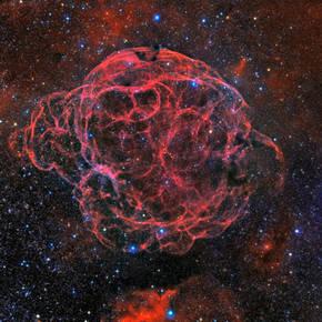 La NASA selecciona una fotografía española de la nebulosa Espagueti