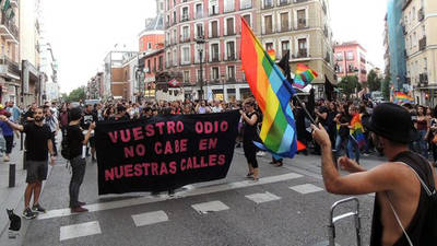 Manifestación del Orgullo Crítico del pasado 17 de mayo