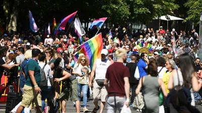 Manifestación del Orgullo LGTBI 2017 en Madrid