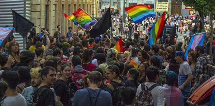 El otro Orgullo: feminista, crítico y enfrentado a 'la mercantilización' del World Pride