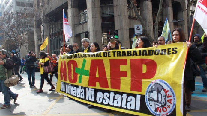 Chile: No+AFP, un año