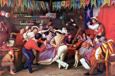 """Celebración de """"Fiestas Patrias"""" en algún país sudamericano (imagen de referencia)"""
