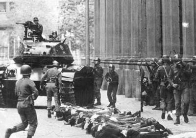 La represión de la dictadura de Pinochet fue sangrienta e implacable