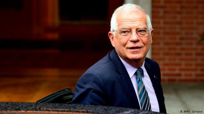 Josep Borrel, Jefe de la Diplomacia europea
