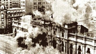 Destrucción del Palacio de La Moneda, Santiago - Chile 11SEP73