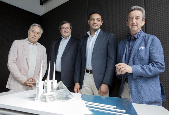 Un empresario egipcio presenta en Madrid su faraónico proyecto de centro cultural