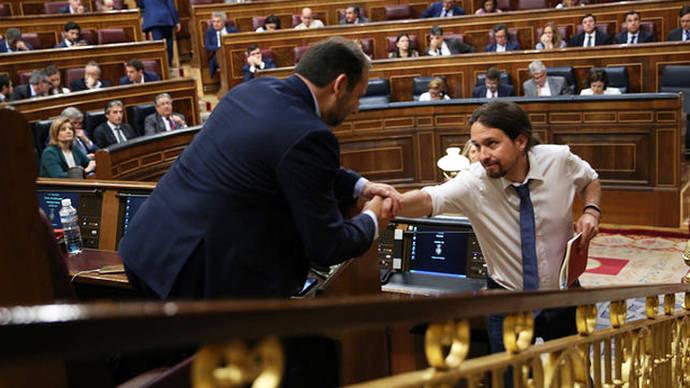 Fracasa la moción de censura contra Rajoy mientras Iglesias piensa ya en la siguiente
