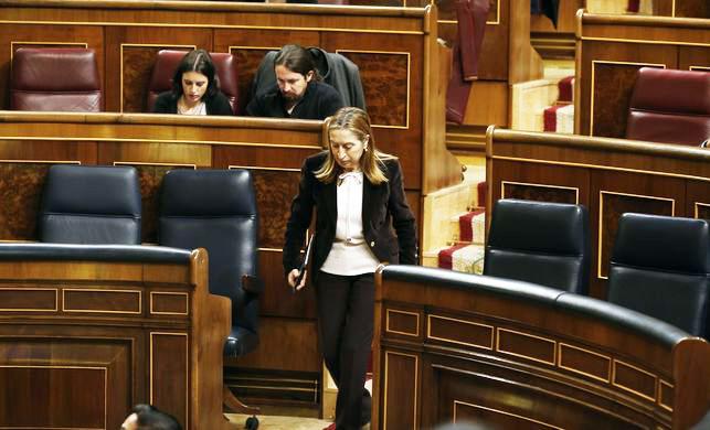 Ana Pastor se reserva decidir quién cerrará el debate de la moción de censura a Rajoy