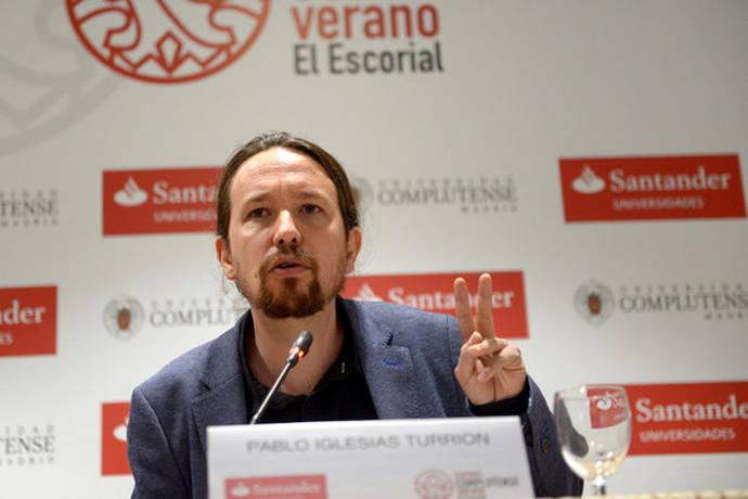Pablo Iglesias se pregunta sobre el papel de la monarquía: