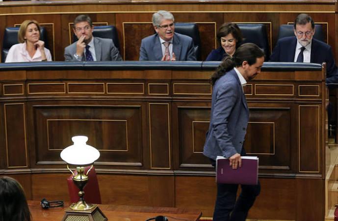 Pablo Iglesias, a Rajoy: