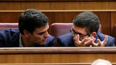 Pedro Sánchez ofrece a Patxi López formar parte de su Ejecutiva