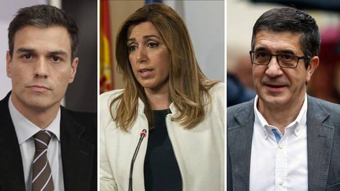 Los choques más duros entre los candidatos del debate del PSOE