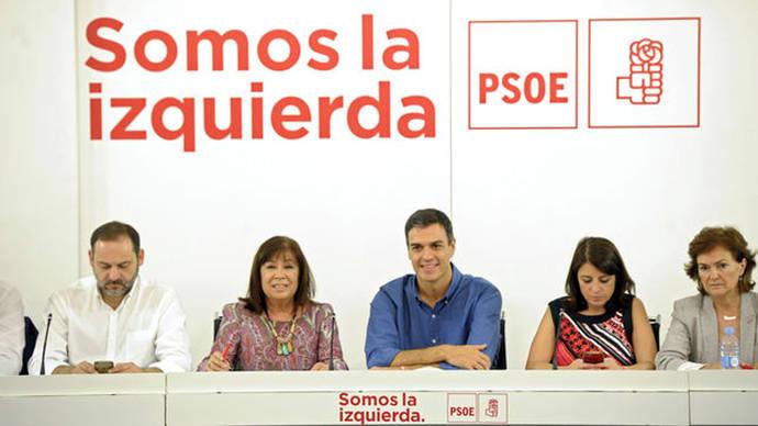 El PSOE confía en que el diálogo dé una oportunidad al cambio pese al veto mutuo entre Podemos y Ciudadanos