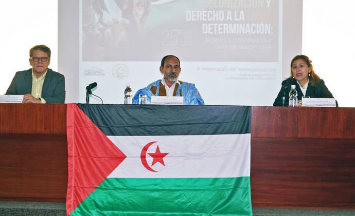 Panelistas: Jornada Descolonización y Derecho a la Libre Determinación: Información, Desinformación y Contrainformación sobre el Sahara Occidenta