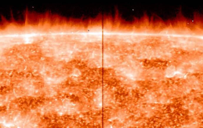 Resuelto el misterio de las espículas del Sol