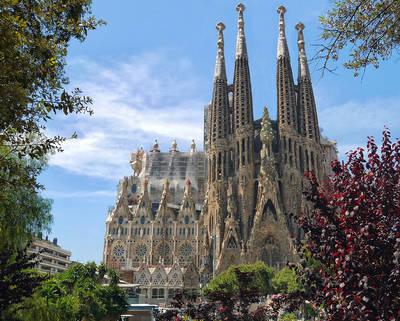 Barcelona, la Sagrada Familia... pasión y desafío de Gaudí