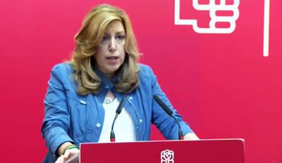 Susana Díaz se suma a consultar a los militantes la destitución del líder del PSOE