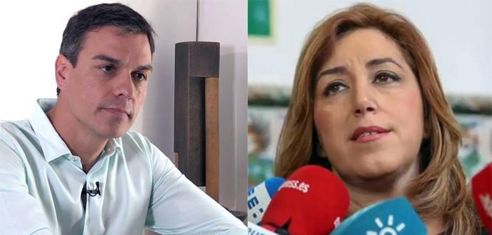 La verificación de los avales del PSOE mantiene la corta distancia entre Susana Díaz y Pedro Sánchez