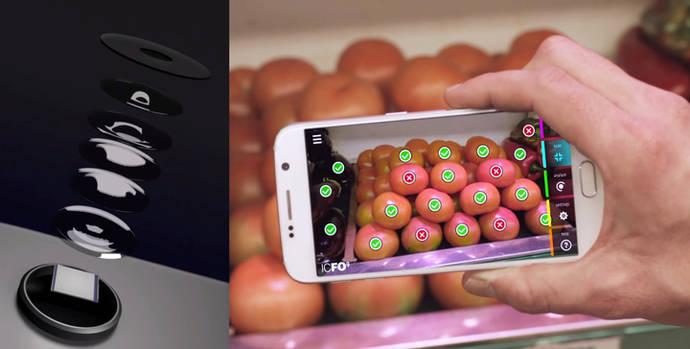 Sensor de grafeno y puntos cuánticos con tecnología CMOS para visión en el ultravioleta, visible e infrarojo
