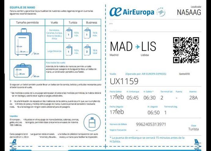 AIR EUROPA se pasa (por salva sea la parte) sus propias reglas y niega el embarque a una pasajera