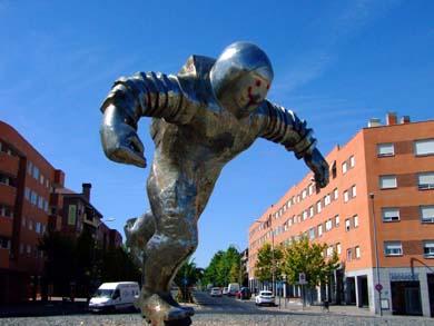 Plaza del Astronauta en Valdemoro (Madrid)