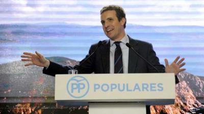 Pablo Casado líder del PP