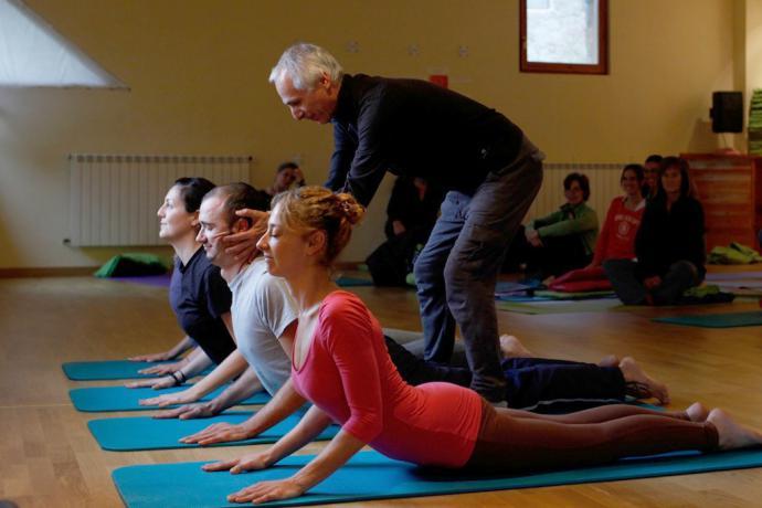 Ser profesor de yoga en Barcelona