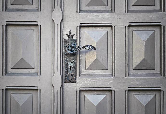 Recursos para preservar y abrir una puerta fácilmente