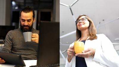 Conoce a tus nuevos colegas de trabajo por su taza de café