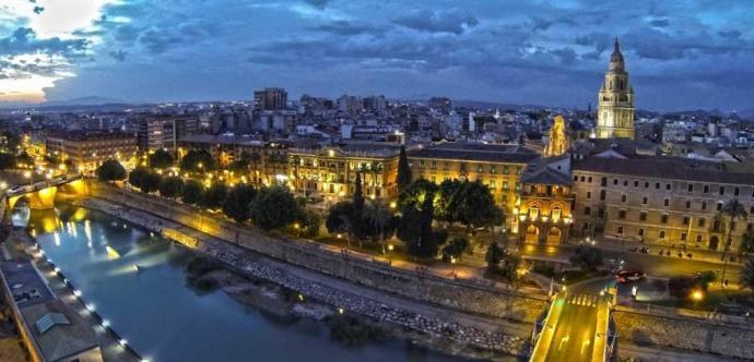 Una panorámica de Murcia