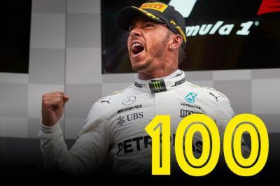 Las 100 victorias de Hamilton en la F1