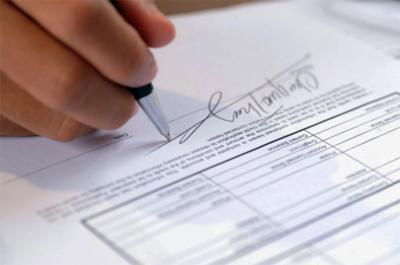 Los servicios de un notario