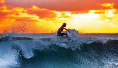 Poderosas razones para practicar surf