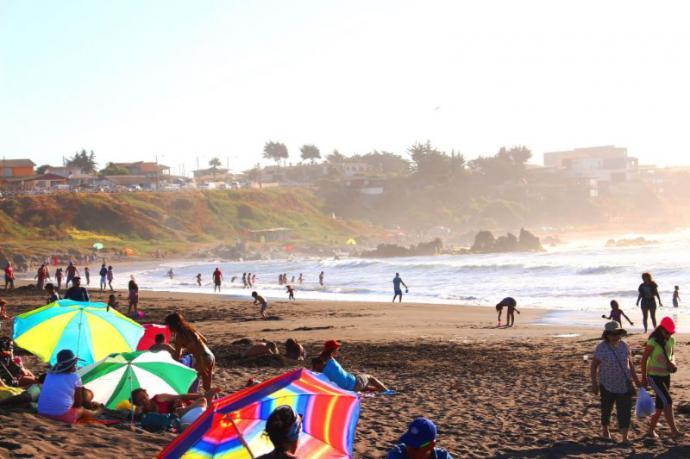 Verano en la costa Chilena y Argentina