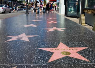 """""""Paseo de la Fama"""", Hollywood, Los Ángeles"""