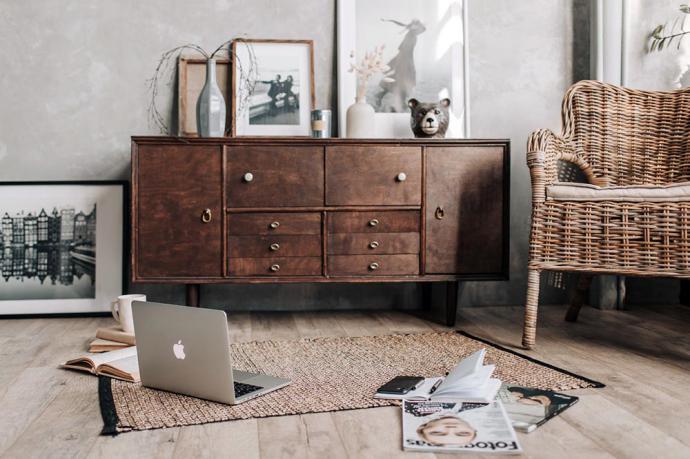 Los muebles rústicos enamoran a todos los estilos