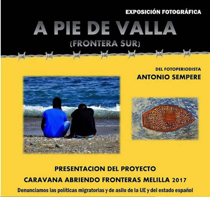 Presentación de la Caravana Abriendo Fronteras Melilla 2017