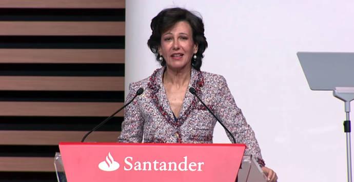 Ana Botín dirige el Banco Santander