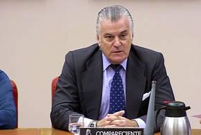 El extesorero del PP Luis Bárcenas, durante su comparecencia en el Congreso