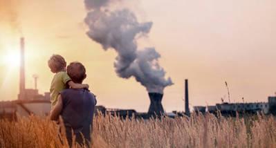 Imagen de la campaña #STOPCambioClimático del grupo europeo de Los Verdes