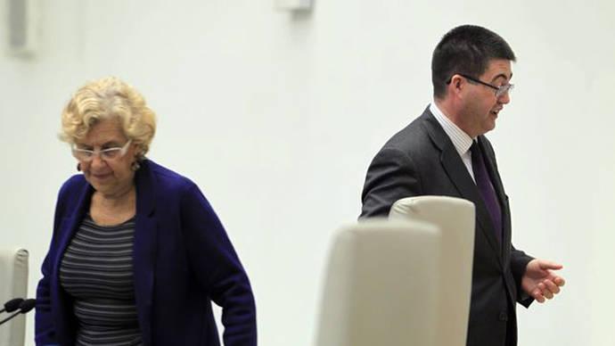 Carmena admite que cesó a Sánchez Mato de Madrid Destino por la denuncia del Open de Tenis