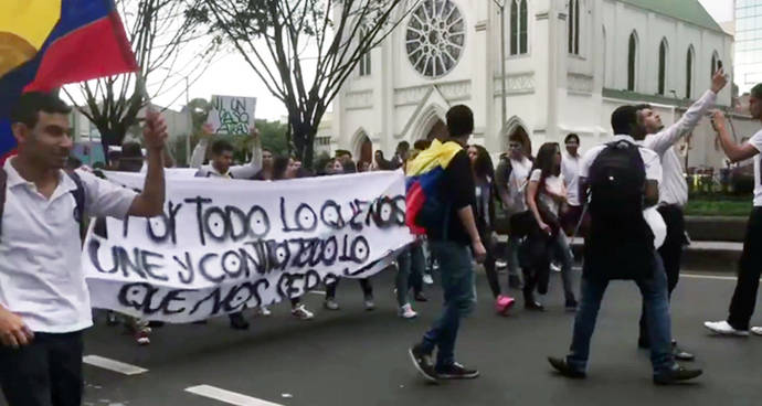 'El movimiento social en Colombia sigue siendo víctima de atentados, amenazas y asesinatos'