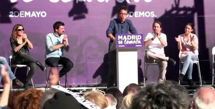 El aterrizaje de Íñigo Errejón en Madrid