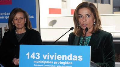 La exalcaldesa de Madrid, Ana Botella