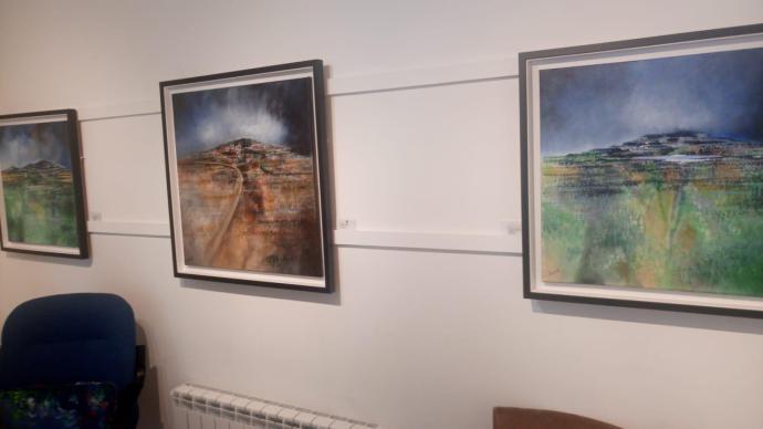 Nuevas pinturas de Manus Walsh, recordando a George Campbell