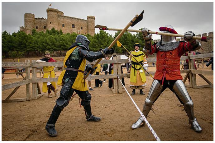 V Torneo Nacional de Combate Medieval Castillo de Belmonte